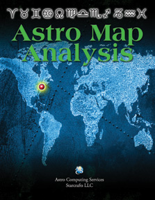 Astro map analysis image