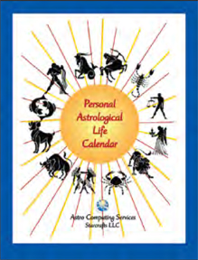 Personal Astrological Life Calendar image