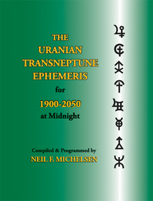 The Uranian Transneptune Ephemeris for 1900-2050 at Midnight image