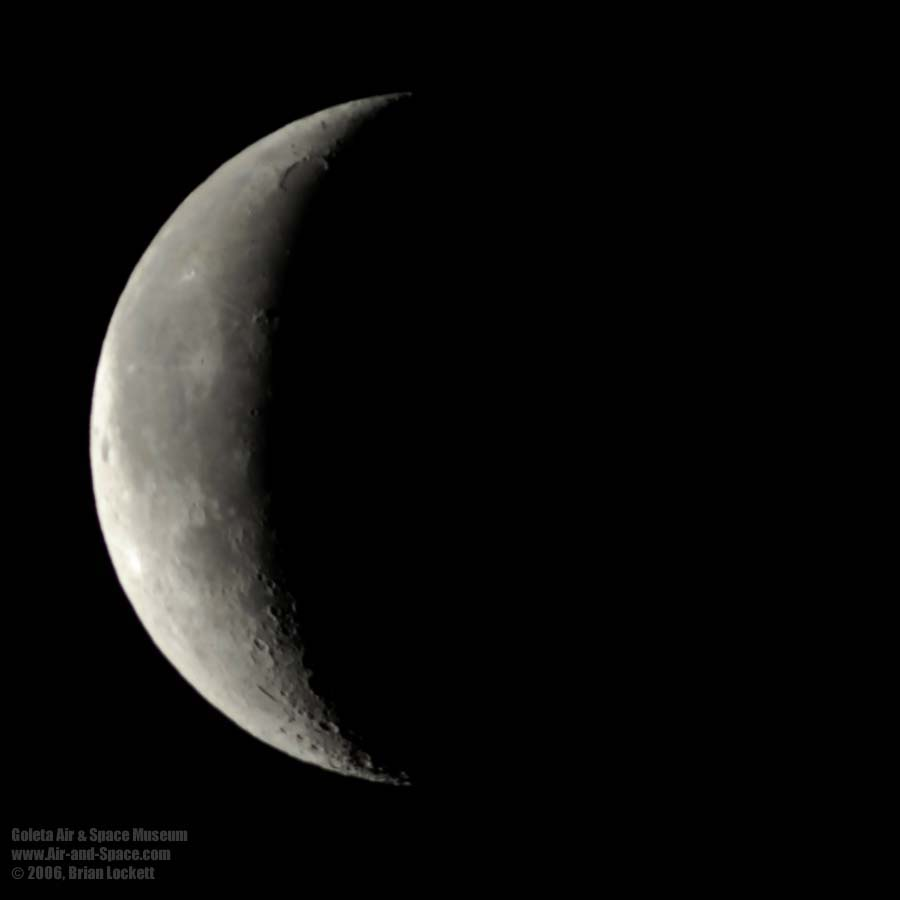 The waning crescent appears on the left in the Northern hemisphere, and the right in the Southern hemisphere