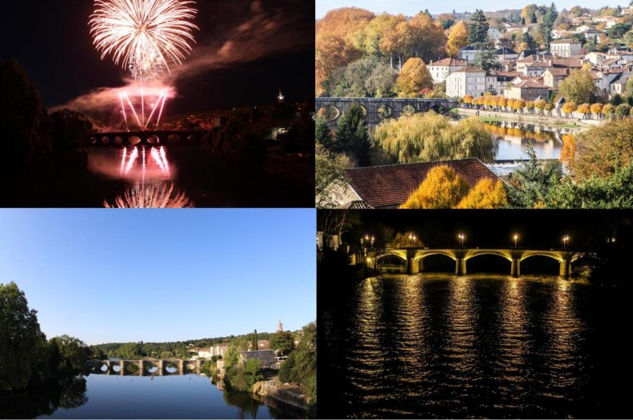 Confolens Collage of views