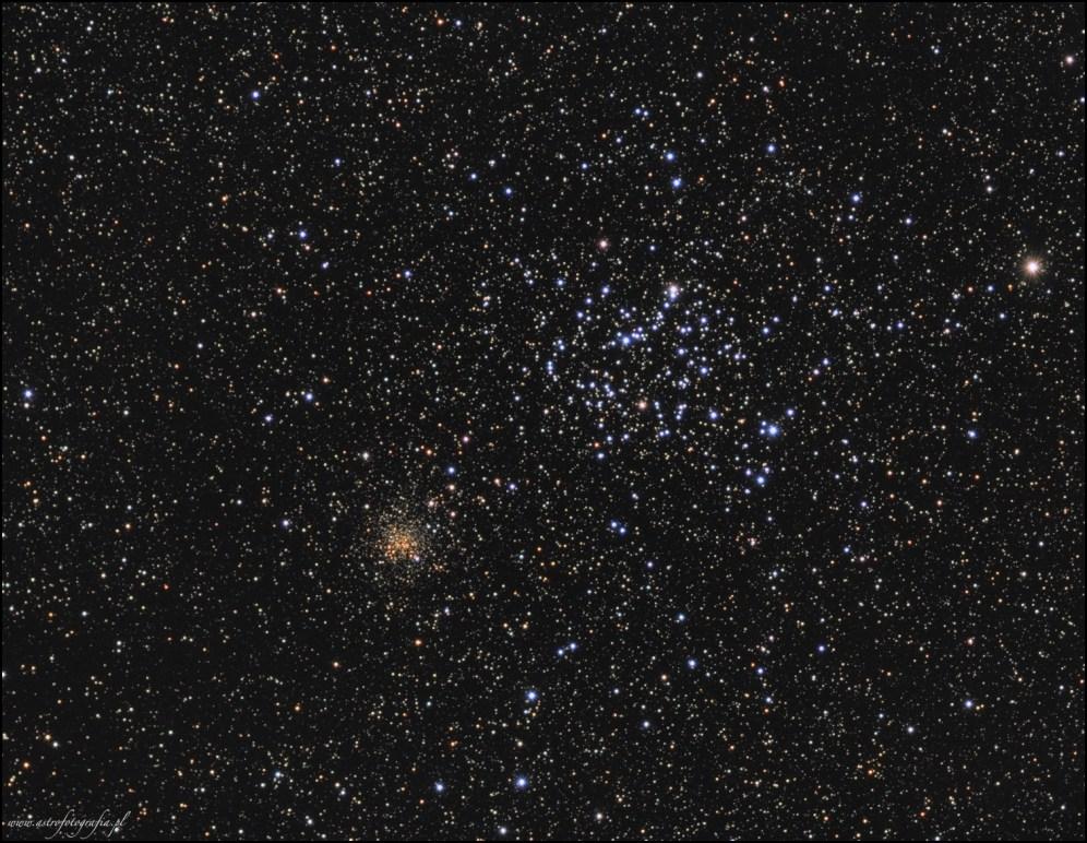Teleskop Takahashi Sky90 + Flattener f:4,5, SBIG ST2000XM - 15x180L + 10x180-RGB, montaż Takahashi EM200.
