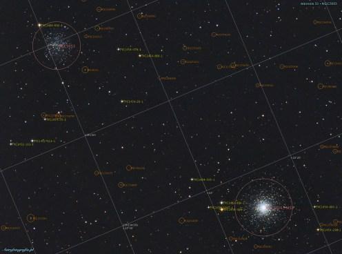 Gromada kulista M53 opis