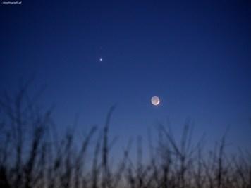 Wenu - Mars - Księżyc. 20 II 2015