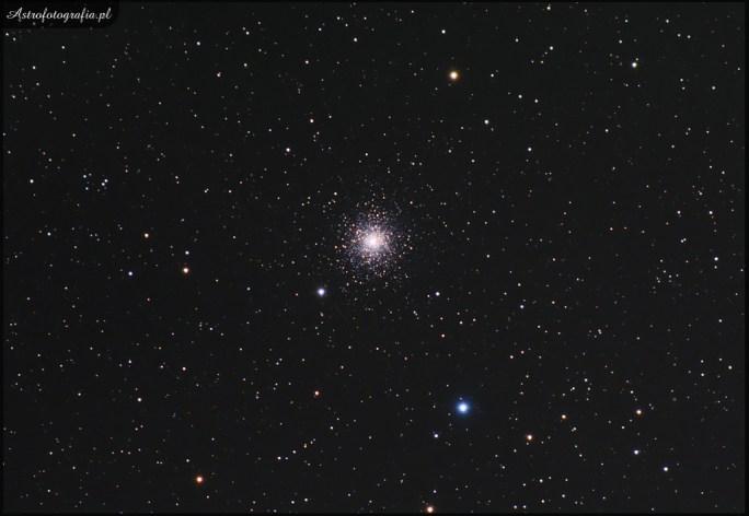 Teleskop Celestron 80ED + TV 0,8x (480mm), SBIG ST2000XM - 9x190s L + 9x190s L 3x120s RGB binx2, montaż Takahashi EM200. M15 jedna z wielu pięknych gromad kulistych zdecydowanie warta uwagi podczas letnich obserwacji oraz sesji astrofotograficznych.