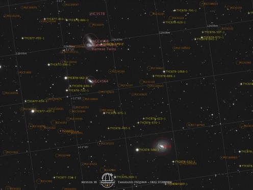 Messier 58 opis