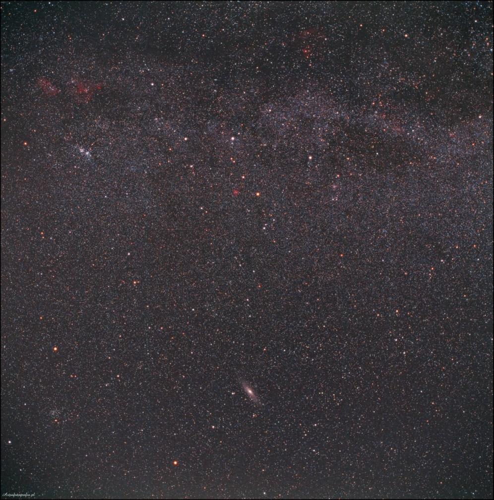 Zdjęcie wykonane średnioformatowym aparatem Rolleiflex 6008 PRO z obiektywem 80mm na slajdzie o czułości ISO400. Czas ekspozycji 15 minut.