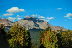 Mt. Shasta with fall colours