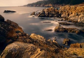 Foggy morning Ocean Cove