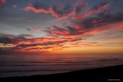 Sunset from Half Moon Bay