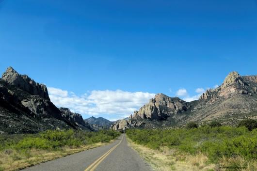 Entering Cave Creek Canyon