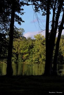 Ouachita Mountains and the 1,940-acre Lake Catherine