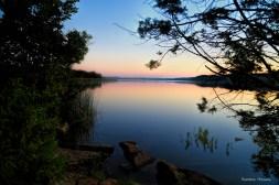 Sunrise at Mineral Wells Spring Lake