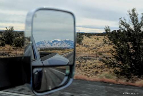 Goodbye Arizona and Mt. Humphreys
