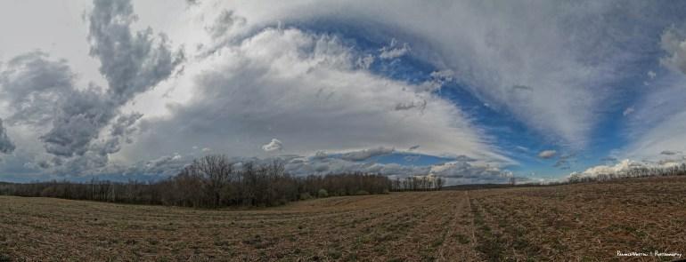 Wild midwest sky