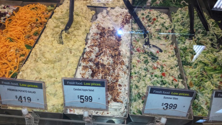 Just what is Candied Apple Salad??? and why....;)