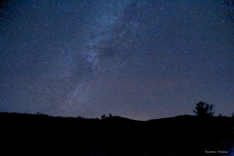 Setting Milky Way