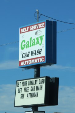Out of this world car wash