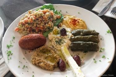 Sample plate at Taberna Dimitri's