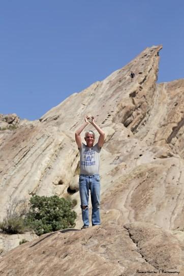 Killing the Gorn! No paper mache rocks to be found;)