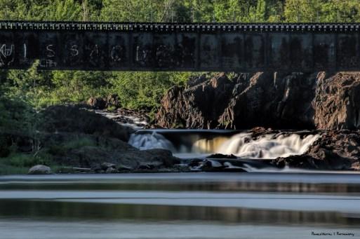 Beautiful Falls into the Vermillion River