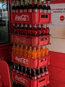 The staple in bottles...