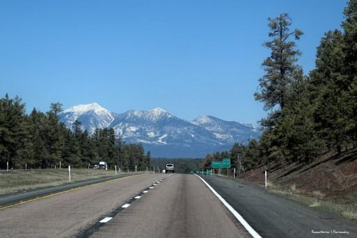 Headed North towards Flagstaff