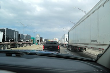 Ye gads! Tijuana type traffic!