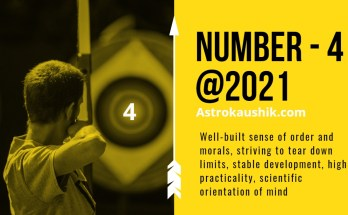 2021 numerology prediction number 4