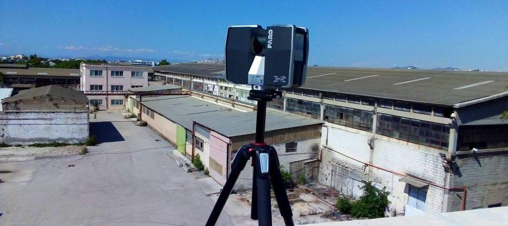 3D scanning NOVAL Scan2BIM FARO Focus
