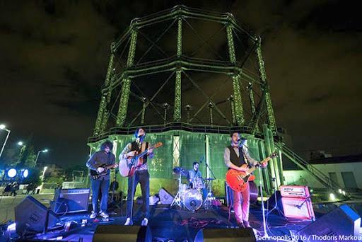 Historic Gasholder Technopolis Athens concert