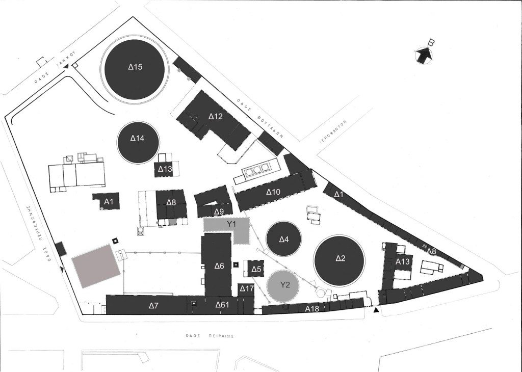 Technopolis Athens Layout