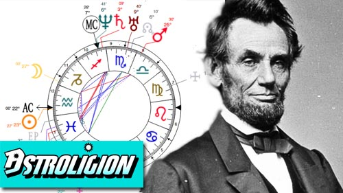 abraham lincoln birth chart