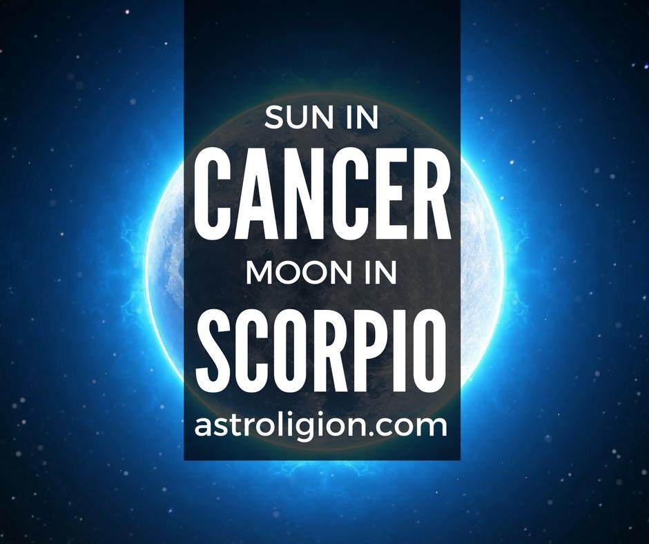 Cancer Sun Scorpio Moon