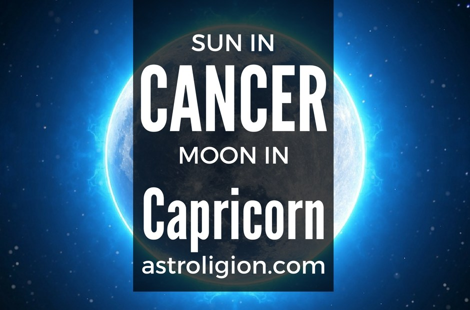 cancer sun capricorn moon
