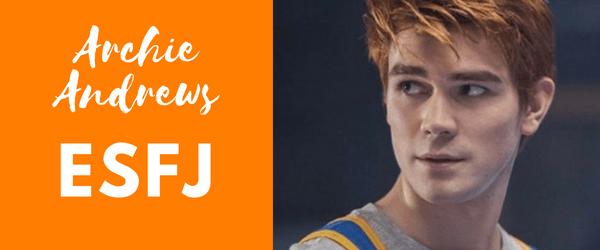 Archie Andrews MBTI - ESFJ