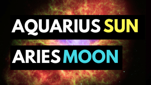 aquarius sun aries moon personality