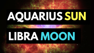 aquarius sun libra moon personality