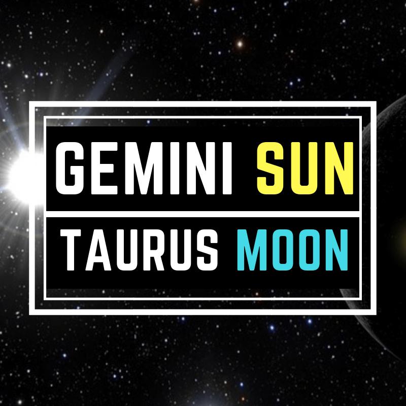 """Gemini Sun Taurus Moon – """"The Earthy Twin"""""""