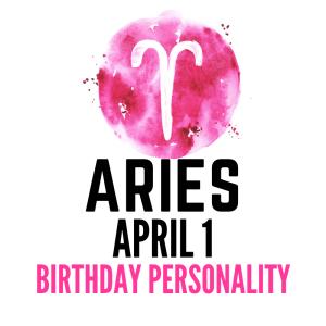 April 1 zodiac birthday