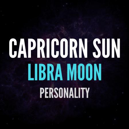 Capricorn Sun Libra Moon Personality