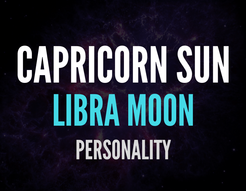 sun in capricorn moon in libra