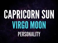 sun in capricorn moon in virgo