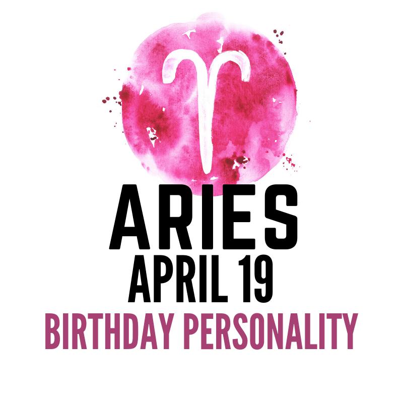 April 19 Zodiac Birthday – Jovial Individualist