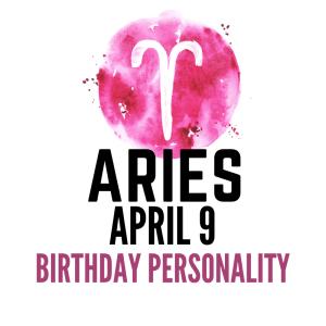 april 9 zodiac sign birthday