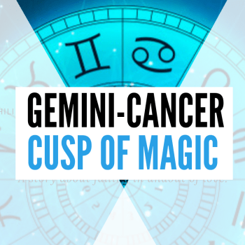gemini-cancer cusp of magic personality