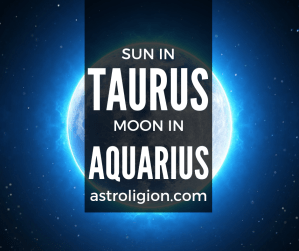 sun in taurus moon in aquarius