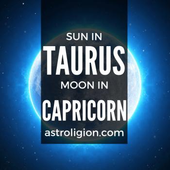 sun in taurus moon in capricorn