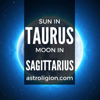 sun in taurus moon in sagittarius