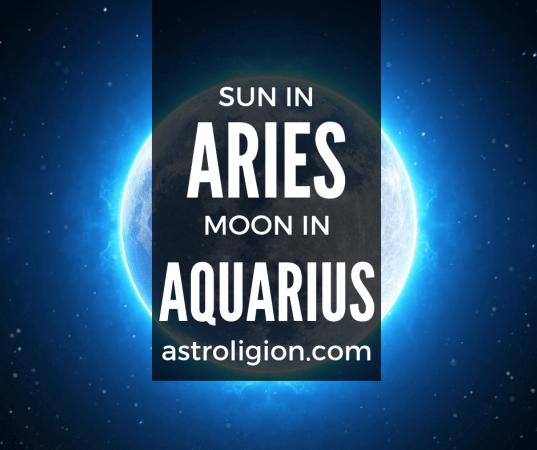 Aries Sun Aquarius Moon Personality